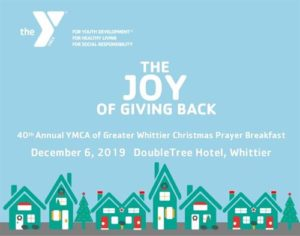 40th Annual YMCA Christmas Prayer Breakfast