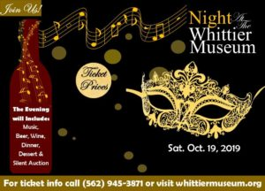 Night at the Whittier Museum