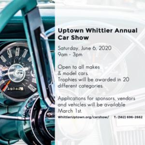 Uptown Whittier Car Show