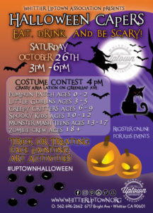 The Whittier Uptown Association's Annual Halloween Capers