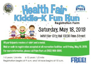 Health Fair Kiddie-K Fun Run